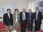 Prof. Enrique Aranda, Dra. Carmen Guillén, Ángel Gracia, Dr. Josep Tabernero y Carlos Hué