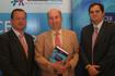 Dr. Jaime del Barrio, Prof. Alfredo Carrato y Dr. Pedro Pérez Segura